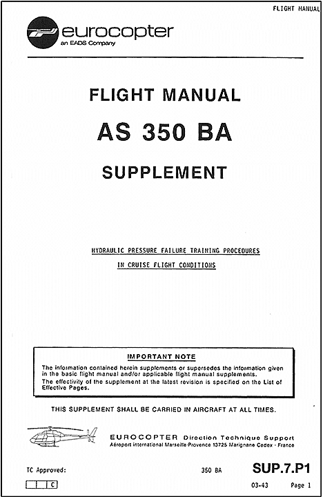 aviation investigation report a13q0021 transportation safety board rh tsb gc ca eurocopter as350 flight manual pdf Eurocopter AS350 Inside