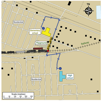 Railway Investigation Report R09D0012 - Transportation
