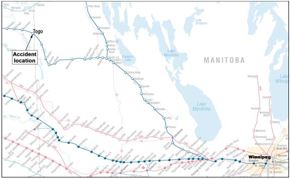 Railway Investigation Report R13W0124 - Transportation