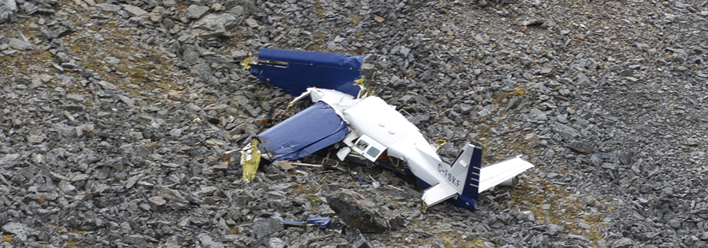 Pilot decision-making in poor weather contributed to fatal 2019 controlled flight into terrain accident near Mayo, Yukon